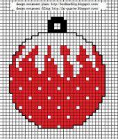 noël - christmas - boule - point de croix - cross stitch - Blog : http://broderiemimie44.canalblog.com/