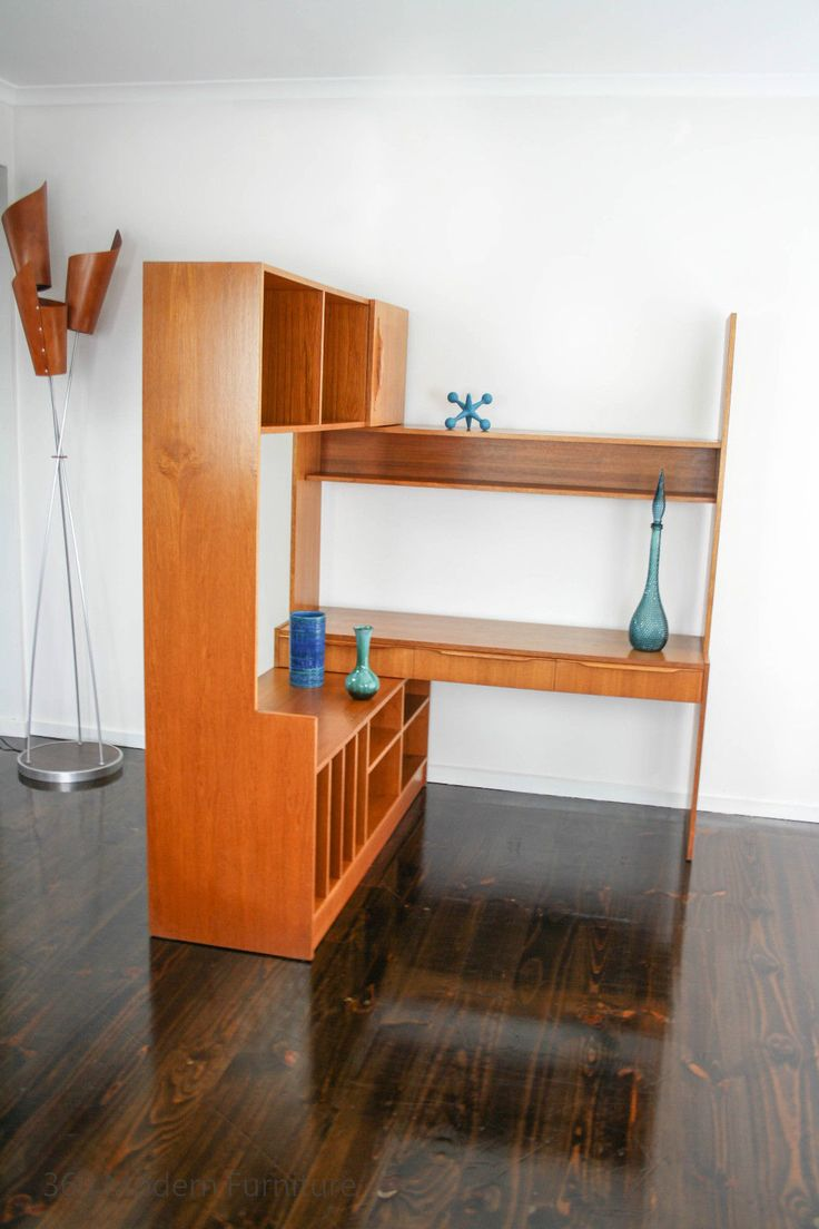Best Mid Century Wall Units By Modern Furniture Images On - Tv wall units ebay
