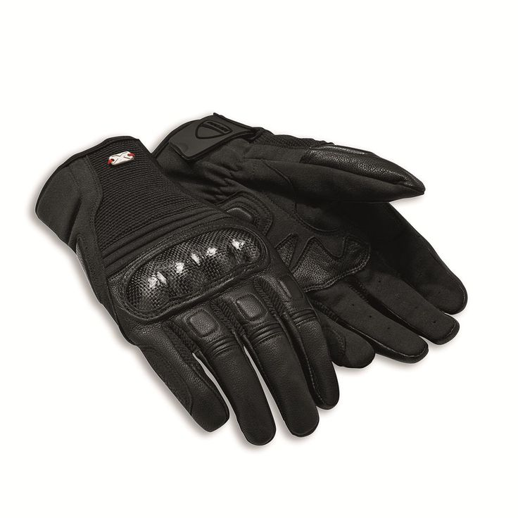 DUCATI Gloves Soul C2 Motorcycle gloves xddiavel Leather + Fabric New 2016
