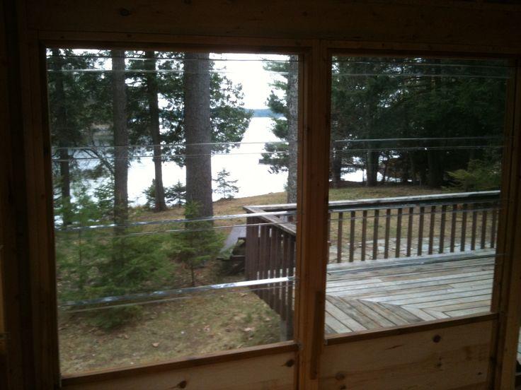 Framed Enclosure jacks lake