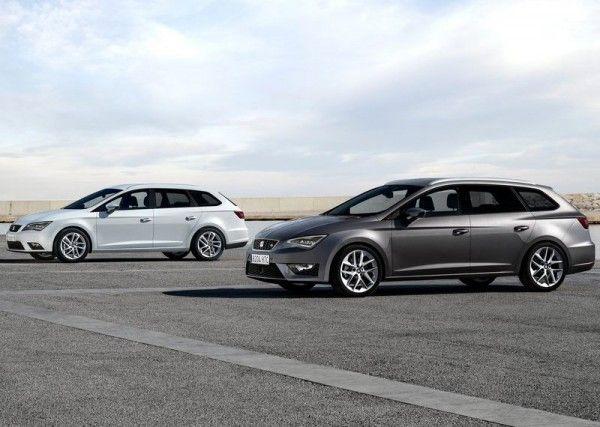 2014 Seat Leon ST White and Metallic 600x427 2014 Seat Leon ST Full Reviews
