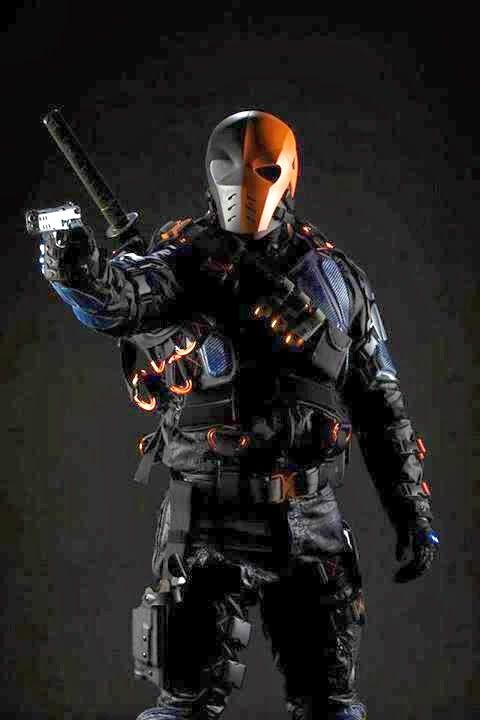 Deathstroke - Arrow did a good job with this costume