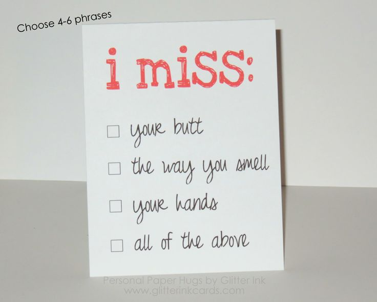 I miss you card - Personalized I miss you card - I  miss your hugs - Custom Miss you card - long distance relationship card by PersonalPaperHugs on Etsy https://www.etsy.com/listing/234241677/i-miss-you-card-personalized-i-miss-you
