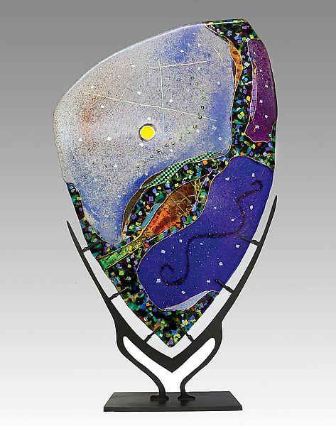 Star Portal by Karen Ehart: Art Glass Sculpture available at www.artfulhome.com