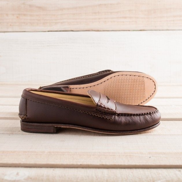 Men's Maine Made True Penny Loafer | Guideboat