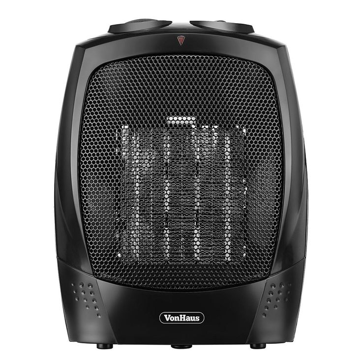 1500W Office Ceramic Heater Small Home Electric Fan Heater 2 Function Thermostat #Branded