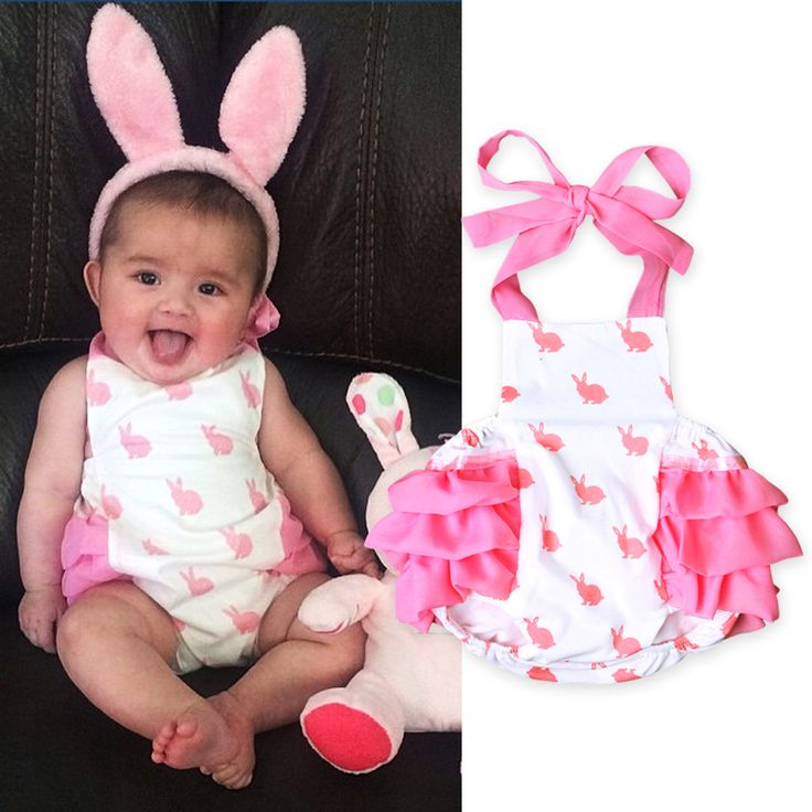 Hot-sale Pink Jumpsuits For baby girls chic bodysuit baby playsuit baby floral Jumpsuits 2017 free shipping DS20