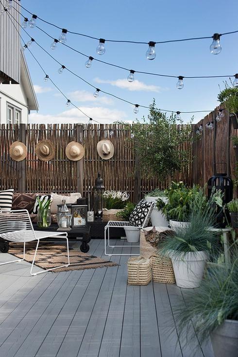 Déco jardin et extérieur: les 4 grandes tendances de l'été 2017