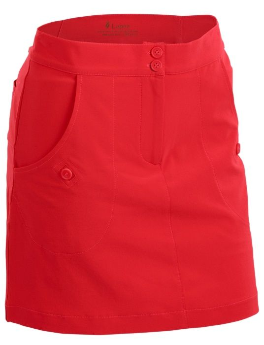 """Coral Nancy Lopez Ladies & Plus Size 18"""" Charming Golf Skort. More stylish ladies outfits at #lorisgolfshoppe"""