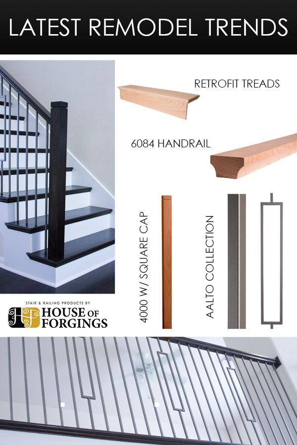 Best Latest Remodel Trends The Aalto Collection Balusters 400 x 300