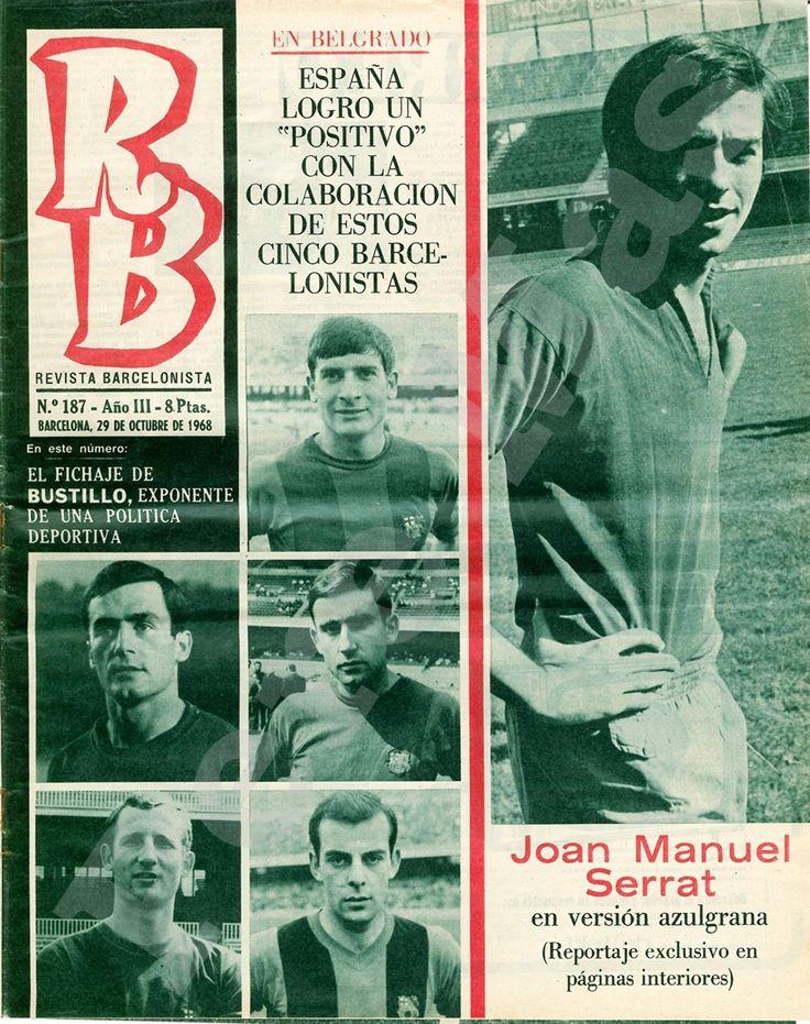Serrat a la revista Barcelonista.