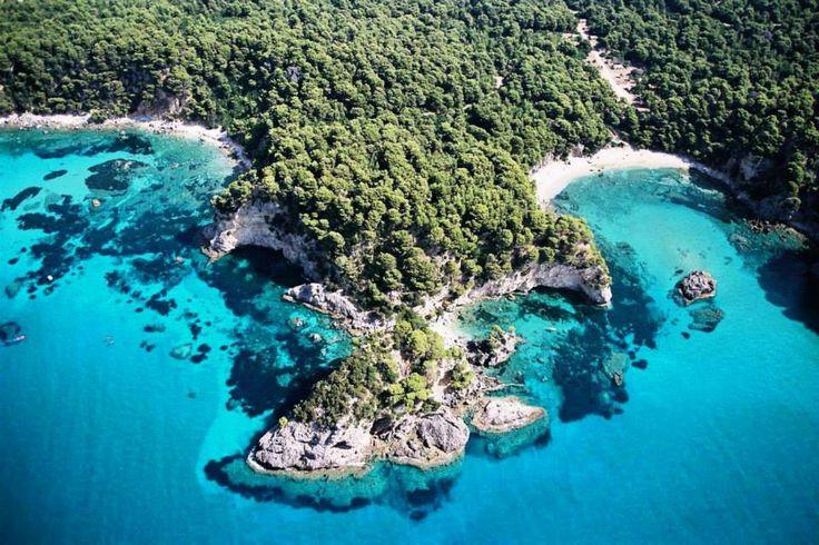 Alonaki Bay in Epirus