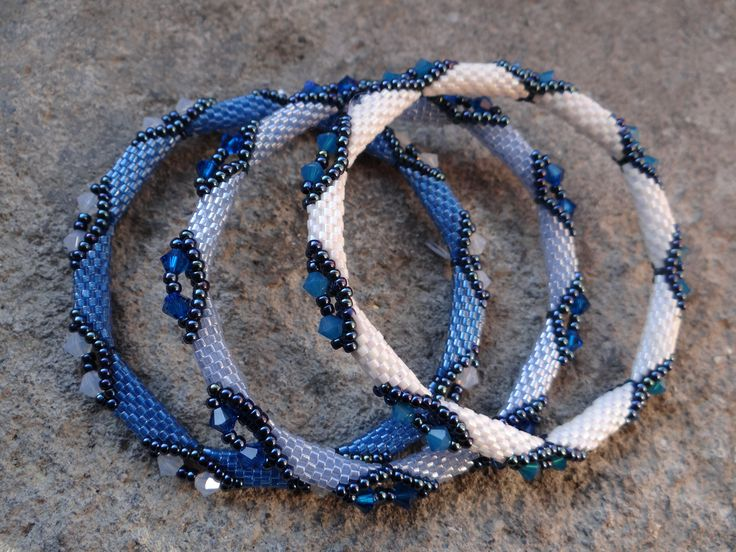 Beaded bangles - I have pinned the tutorial for these below on my page. I have made 3 so far - love them!!!