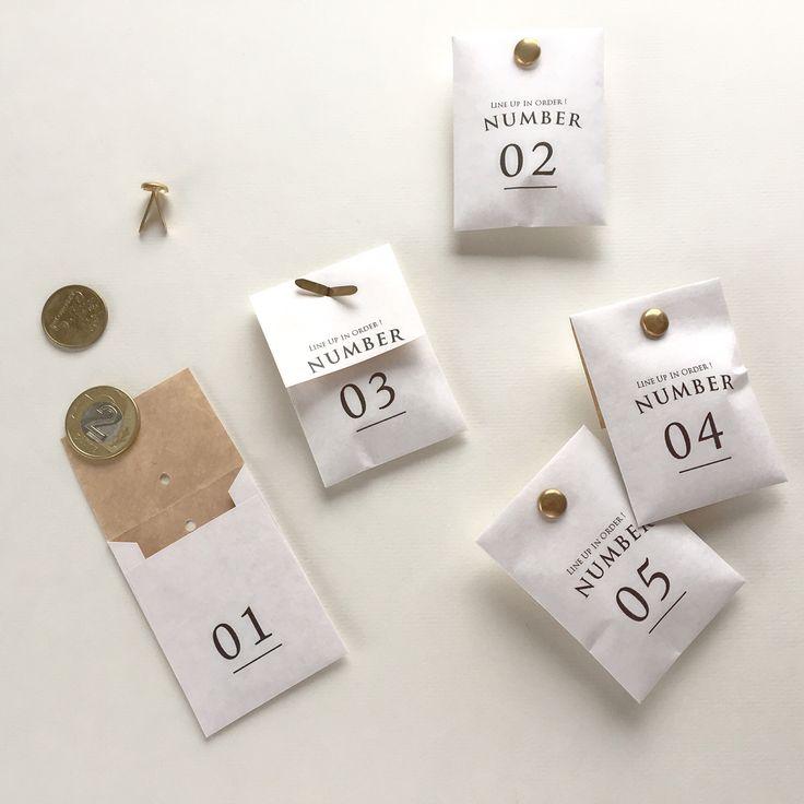 Number packaging