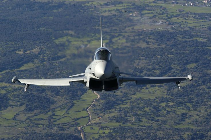 Eurofighter Typhoon (C.16), Ejército del Aire, Spain. Photo: Spanish Air Force