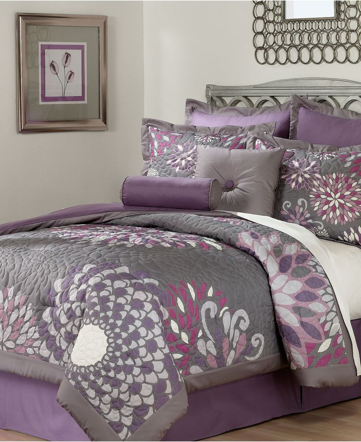 26 best designing Purple and Grey Bedroom images on ...