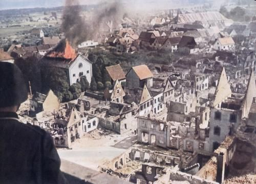 destroyed cities due to wars world war 2 photos german