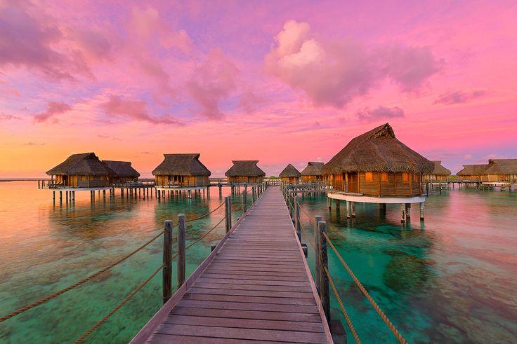 Tikehau Pearl Beach Resort, Tikehau Atoll, French Polynesia.  Photo by Mark Gray