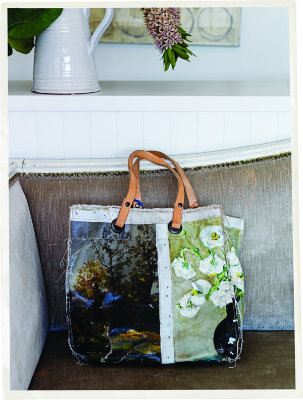 Hand Crafted Oil Painting Bag | The Society inc by Sibella Court