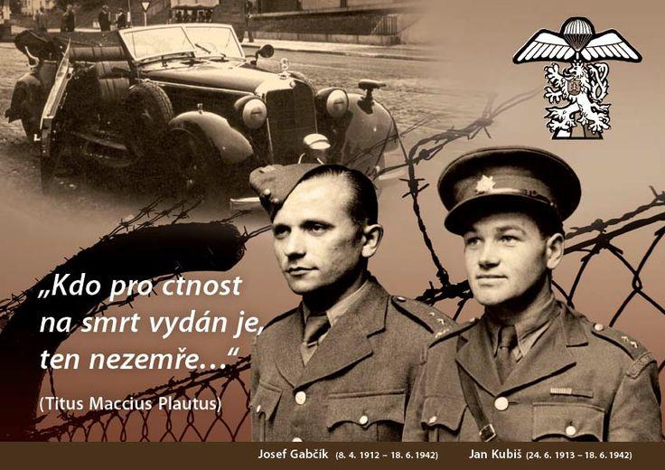 Pamětní pohlednice k výročí Operace Anthropoid