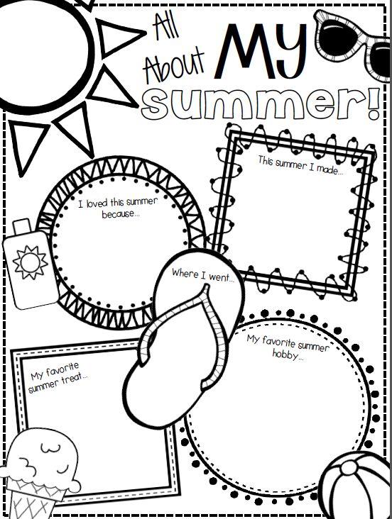 How to Plan Kindergarten Summer Homework Packets