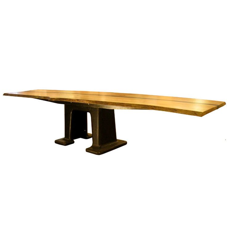 Best 25 Industrial dining tables ideas on Pinterest Industrial