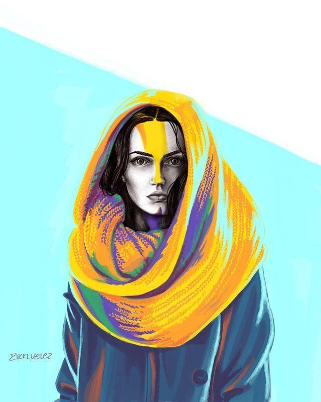 ilustracion digital portrait