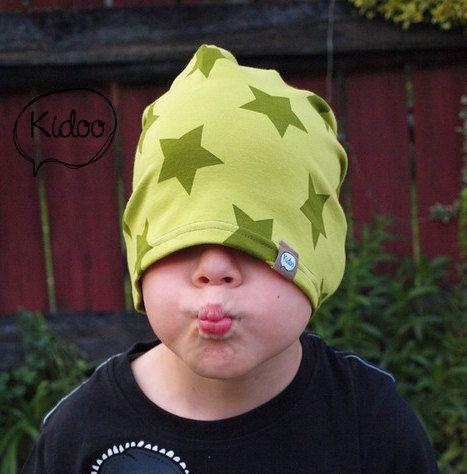 Organic cotton children hat SUPER STAR
