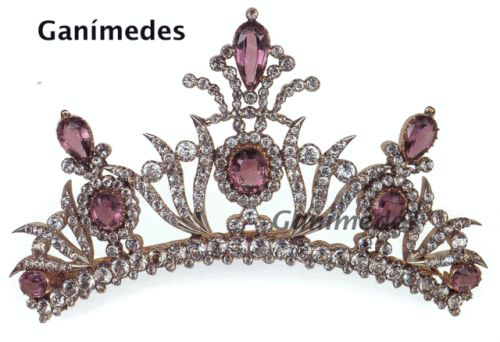 French amethyst tiara, circa 1820-1830