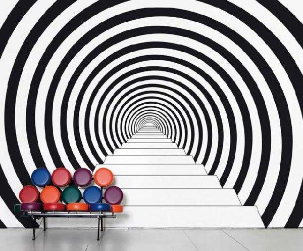 Galleria foto - Carta da parati alla moda Foto 24