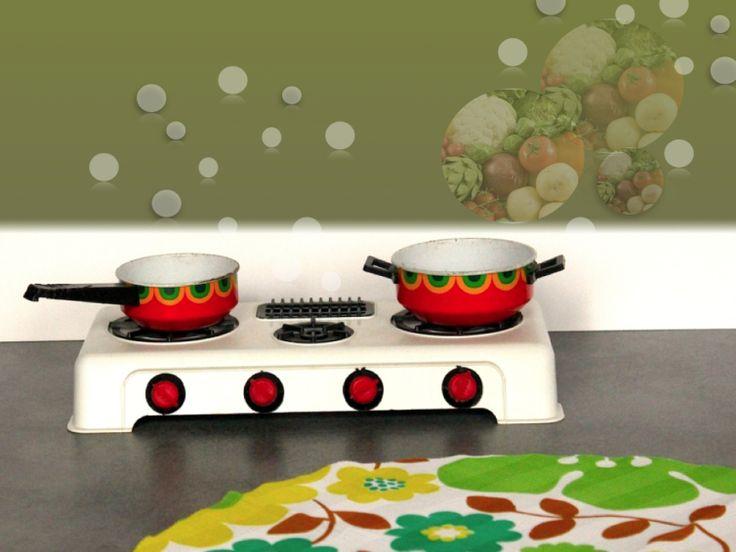 Plaques de cuisson pour dinette vintage