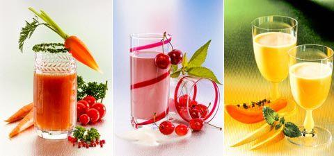 Gesunde Saftdiät zum Abnehmen: Die gesunde Saftkur regt den Stoffwechsel an, beschleunigt die Fettverbrennung, entwässert und entgiftet. www.ihr-wellness-magazin.de