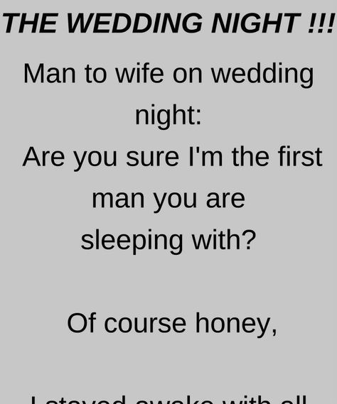 The Wedding Night Funny Story