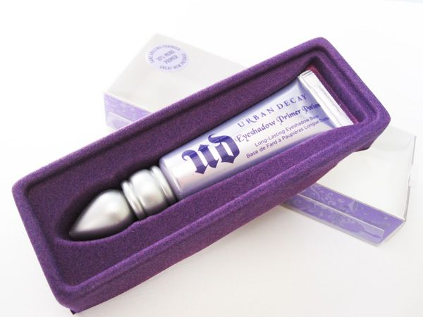 Urban Decay Primer Potion - BEST primer hands down. Without it, my eyeshadow fades and creases. A little goes a long way.
