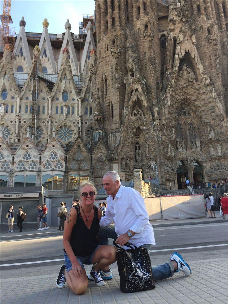 Gaudi Sagrada Familia Barcelona mei 2017