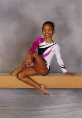 See The Cutest Photos Of Gold Medal Winning Gymnast Gabby Douglas