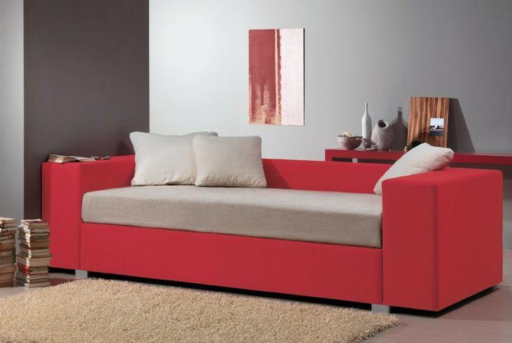 BADROOM - centri camerette specializzati in camere e camerette per ragazzi - letto imbottito con box contenitore