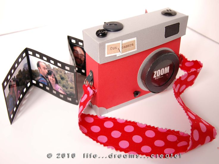 Mini album Fun Camera