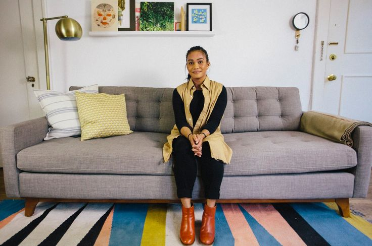 """There's this romper that I've been eyeing. It's a denim romper, and it's something that you could just slip into, no zippers, just solid, semi-shapeless silhouette, so it's easy to just throw on. It wasn't quite my price point that I was wanting, so I kept looking and I just kept it on my Pinterest board. I think I re-pinned it later and decided that I would save up for it and get it, and I got it for my birthday.""-Laura in Seattle"