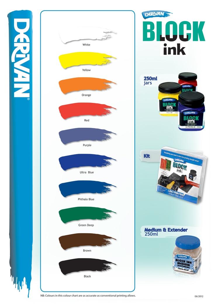 Derivan Block Ink