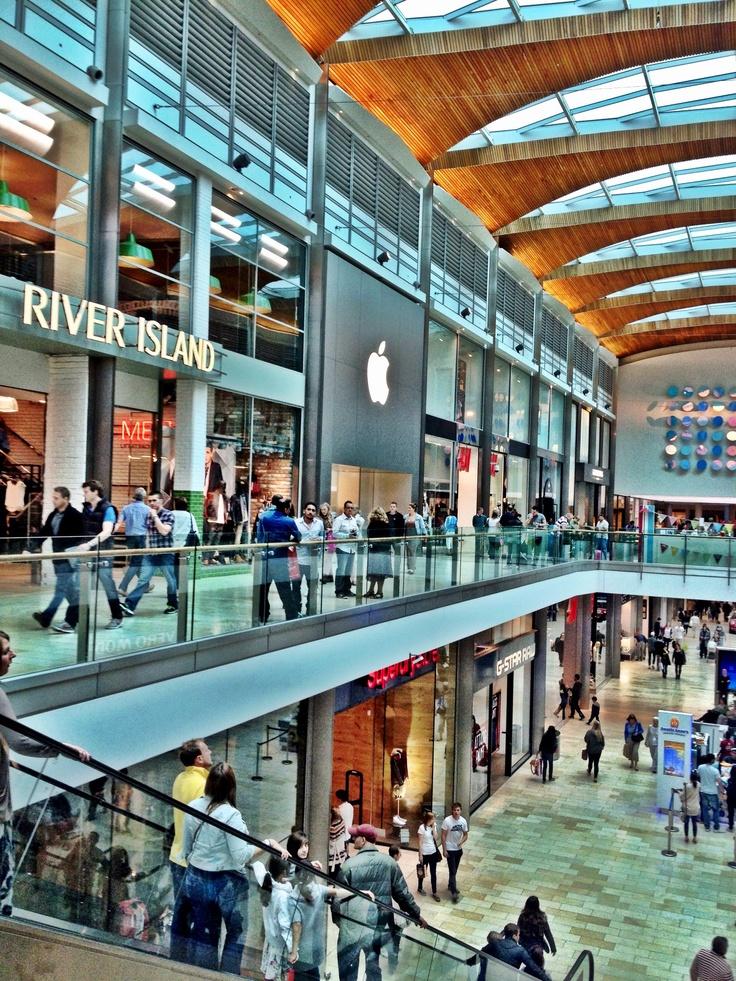 Highcross Shopping Centre.