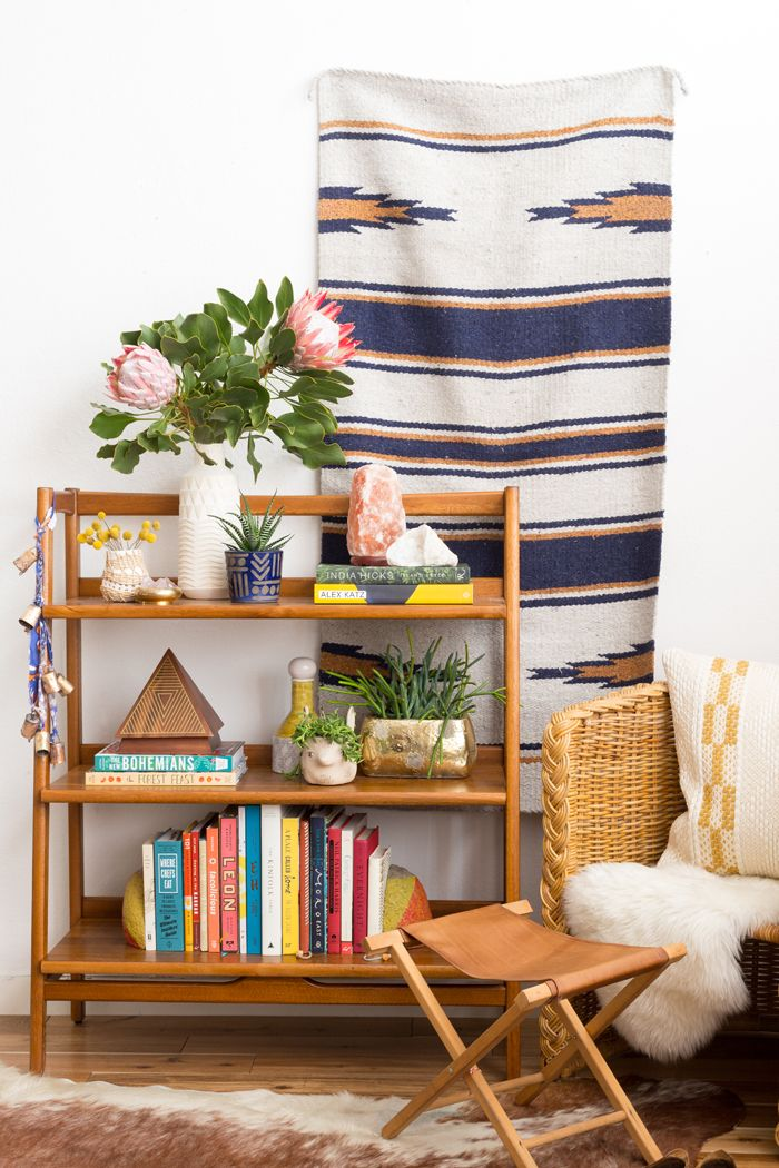 Emily Henderson Bookshelf (With The New Boho Book!)
