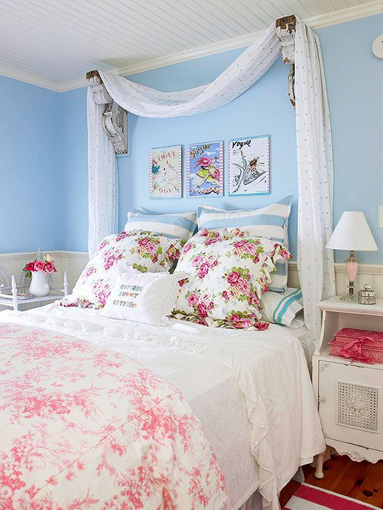 Look to patterns, patinas, and pieces from periods past to design vintage bedrooms that are cozy, comfortable, and stylishly collected.