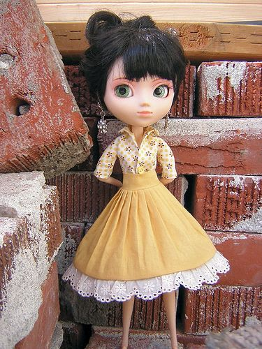 16 Best Images About Blythe Doll Clothing Patterns On