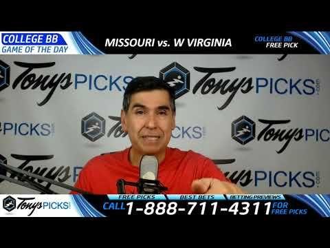 Missouri Tigers vs. West Virginia Mountaineers Free NCAA Basketball Pick...