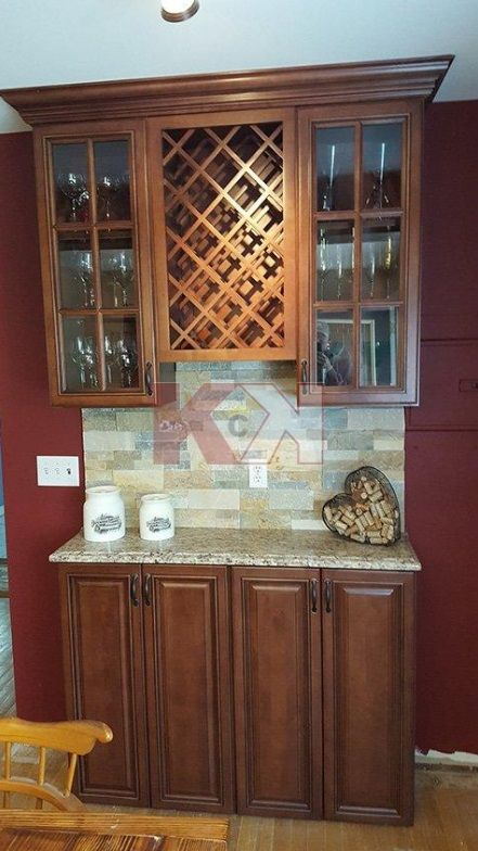 High quality cabinets for an unbelievable price. ~  Steve Pesce | DOOR STYLE: BROWNSTONE | Kitchen Cabinet Kings