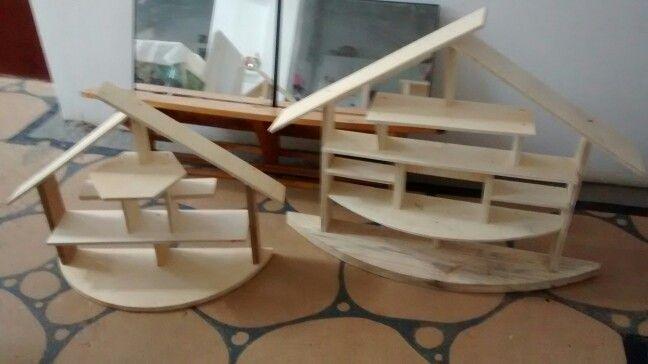 Casinhas de madeira