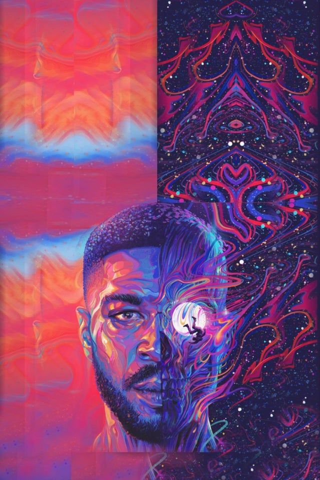 Looking For This Kid Cudi S Man On The Moon 3 Album Cover Picture In Full Size Please Help 1024x600 In 2021 Kid Cudi Wallpaper Kid Cudi Poster Art Wallpaper Iphone Kid cudi iphone 5 wallpaper