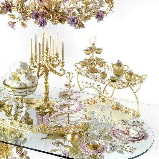 Idea para mesa de dulce elegante