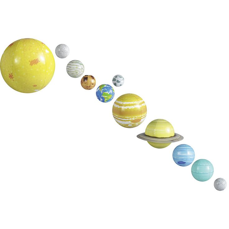Inflatable solar system | Revolutions, Solar system and Solar
